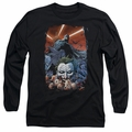Batman adult long-sleeved shirt Detective Comics #1 black