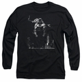 Batman adult long-sleeved shirt Dirty City black