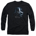 Batman adult long-sleeved shirt Don't Mess With The Bat black
