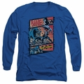Batman adult long-sleeved shirt Epic Battle royal