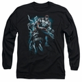 Batman adult long-sleeved shirt Evil Rising black