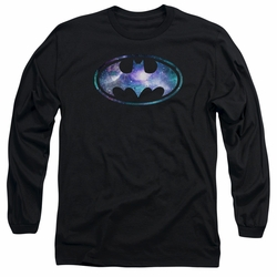 Batman adult long-sleeved shirt Galaxy 2 Signal black