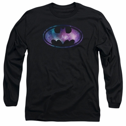 Batman adult long-sleeved shirt Galaxy Signal black