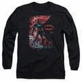 Batman adult long-sleeved shirt Gotham Reign black