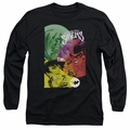 Batman adult long-sleeved shirt Gotham Sirens black