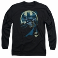 Batman adult long-sleeved shirt Heed The Call black