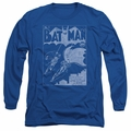 Batman adult long-sleeved shirt Issue 1 Cover royal blue