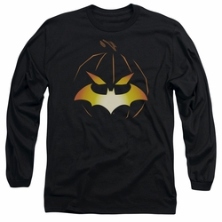 Batman adult long-sleeved shirt Jack O'Bat black