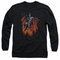 Batman adult long-sleeved shirt Majestic black