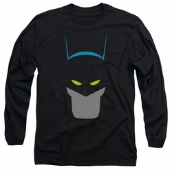 Batman adult long-sleeved shirt Simplified black