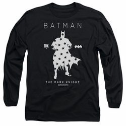 Batman adult long-sleeved shirt Star Silhouette black