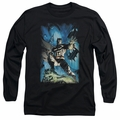 Batman adult long-sleeved shirt Stormy Dark Knight black