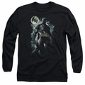 Batman adult long-sleeved shirt The Knight black