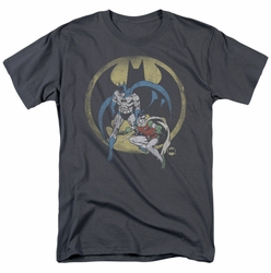 Batman and Robin Team DC Originals mens t-shirt