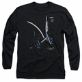 Batman Arkham Asylum adult long-sleeved shirt Arkham Batman black