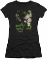 Batman Arkham Asylum juniors t-shirt Welcome To The Madhouse black
