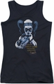 Batman Arkham Asylum juniors tank top Arkham Harley Quinn black