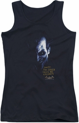 Batman Arkham Asylum juniors tank top Arkham Joker black