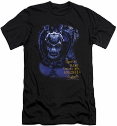 Batman Arkham Asylum  slim-fit t-shirt Arkham Bane mens black