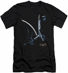 Batman Arkham Asylum  slim-fit t-shirt Arkham Batman mens black