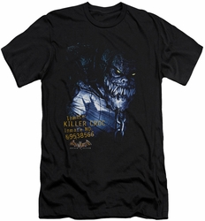 Batman Arkham Asylum  slim-fit t-shirt Arkham Killer Croc mens black
