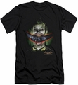 Batman Arkham Asylum  slim-fit t-shirt Crazy Lips mens black