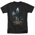Batman Arkham Asylum t-shirt Five Against One mens black