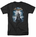 Batman Arkham Asylum t-shirt Game Cover mens black