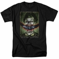 Batman Arkham Asylum t-shirt Split Lip mens black