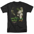 Batman Arkham Asylum t-shirt Welcome To The Madhouse mens black