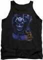 Batman Arkham Asylum  tank top Arkham Bane adult black
