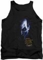 Batman Arkham Asylum  tank top Arkham Joker adult black