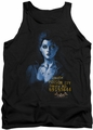 Batman Arkham Asylum  tank top Arkham Poison Ivy adult black