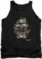 Batman Arkham Asylum  tank top Crazy Lips adult black
