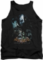 Batman Arkham Asylum  tank top Five Against One adult black