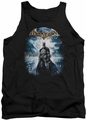 Batman Arkham Asylum  tank top Game Cover adult black