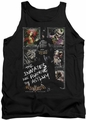 Batman Arkham Asylum  tank top Running The Asylum adult black