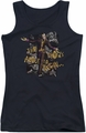 Batman Arkham City juniors tank top About To Begin black