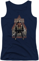 Batman Arkham City juniors tank top Arkham Robin navy