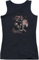 Batman Arkham City juniors tank top Blood Moon black