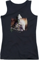 Batman Arkham City juniors tank top Certified Insane black