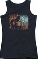 Batman Arkham City juniors tank top City Knockout black