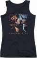 Batman Arkham City juniors tank top Escape Is Impossible black