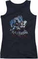 Batman Arkham City juniors tank top Joke's On You! black