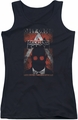 Batman Arkham City juniors tank top Obey Order Poster black