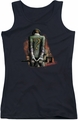 Batman Arkham City juniors tank top Riddler Convicted black