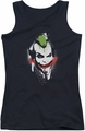 Batman Arkham City juniors tank top Spraypaint Smile black