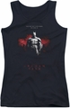 Batman Arkham City juniors tank top Standing Strong black