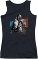 Batman Arkham City juniors tank top Two Face black