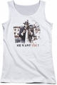 Batman Arkham City juniors tank top We Want You white